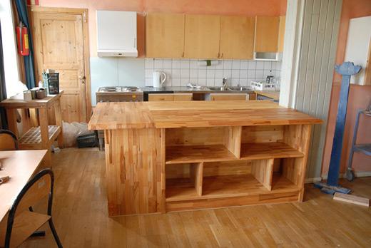 Kjøkken for steinerskolen